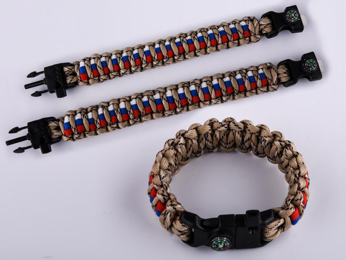 Купить мужской браслет из шнурков