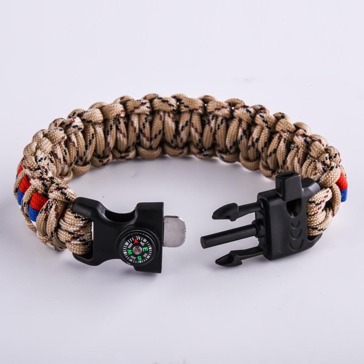 Мужской браслет из шнурков от Военпро