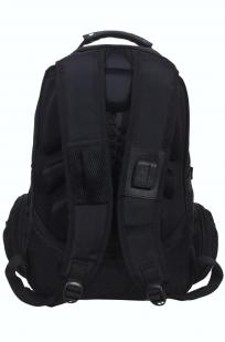 Мужской черный рюкзак с нашивкой Коловрат купить онлайн