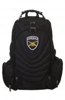 Мужской черный рюкзак с нашивкой Спецназ