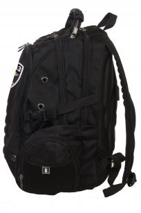 Мужской черный рюкзак с нашивкой Спецназ  купить онлайн