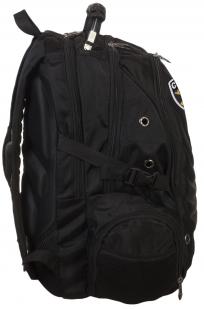 Мужской черный рюкзак с нашивкой Спецназ  купить с доставкой