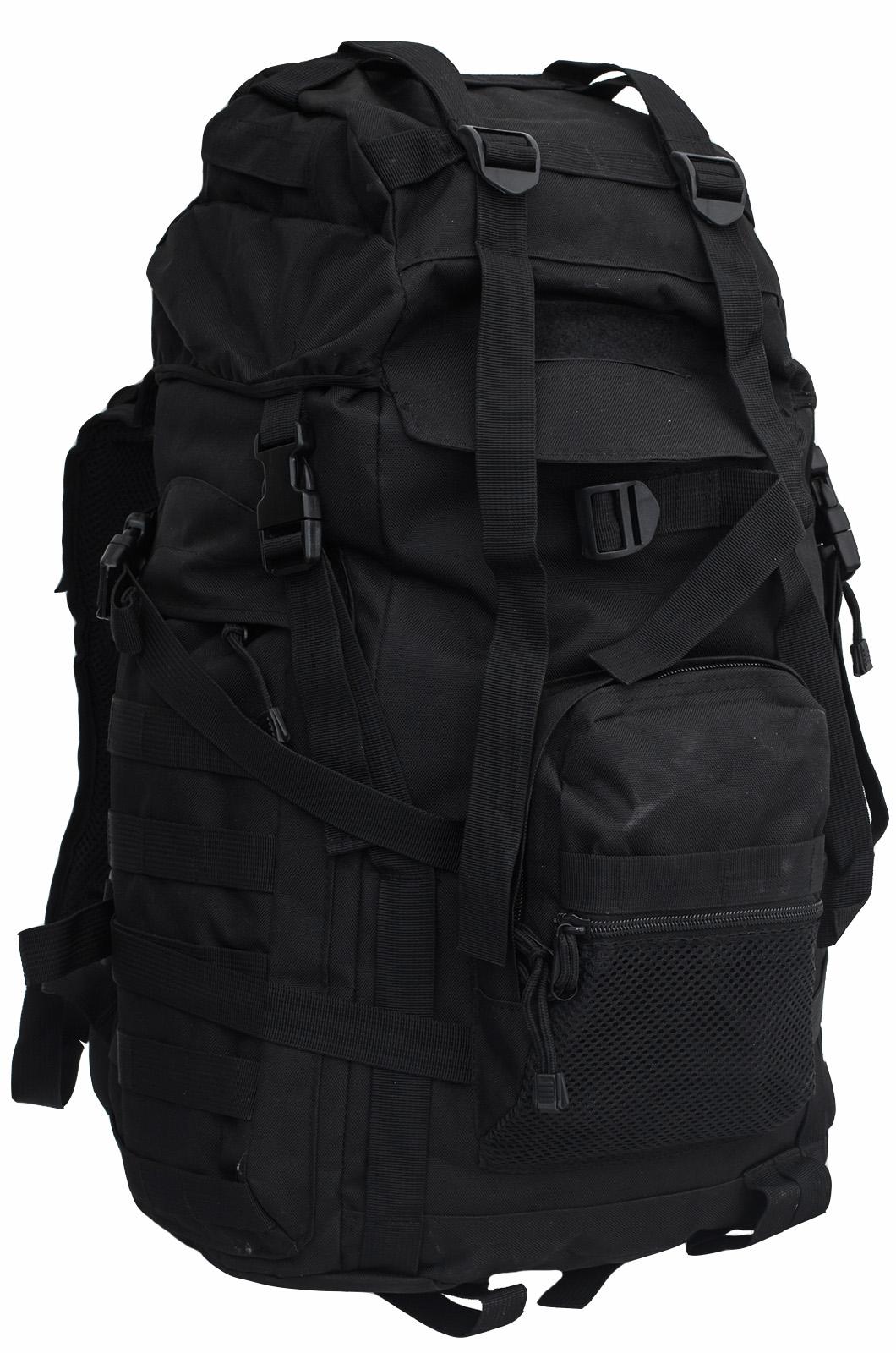 Черный армейский рюкзак (объем - 30-50 литров) 967444e5665