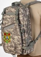 Мужской камуфляжный рюкзак с нашивкой Пограничная служба - купить онлайн