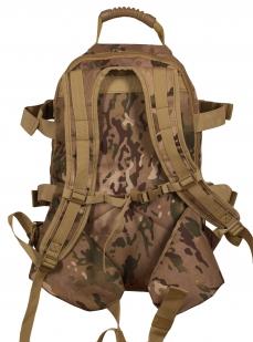 Мужской камуфляжный рюкзак с нашивкой Русская Охота - купить в розницу