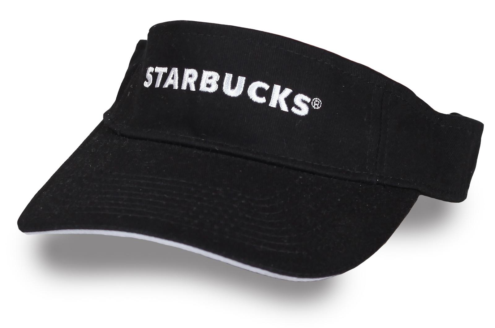 Мужской козырек Starbucks