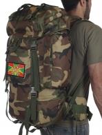Мужской надежный рюкзак с нашивкой Погранвойск