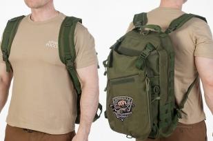 Мужской особенный рюкзак с нашивкой Рыболовный Спецназ - купить онлайн