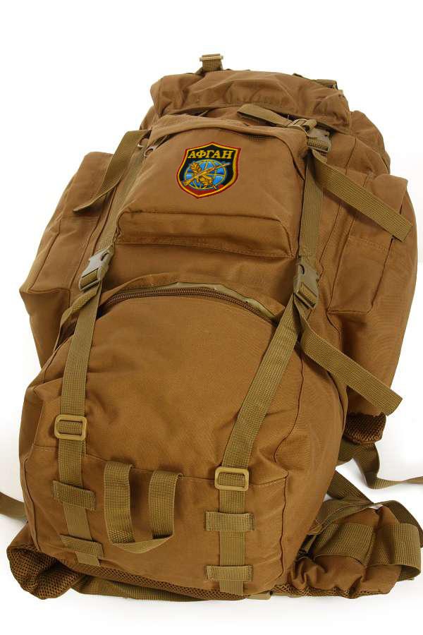 Мужской походный рюкзак с нашивкой АФГАН - заказать онлайн