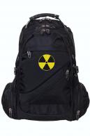 Мужской повседневный рюкзак со знаком радиации