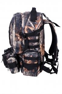 Мужской практичный рюкзак с нашивкой Герб России - купить в розницу