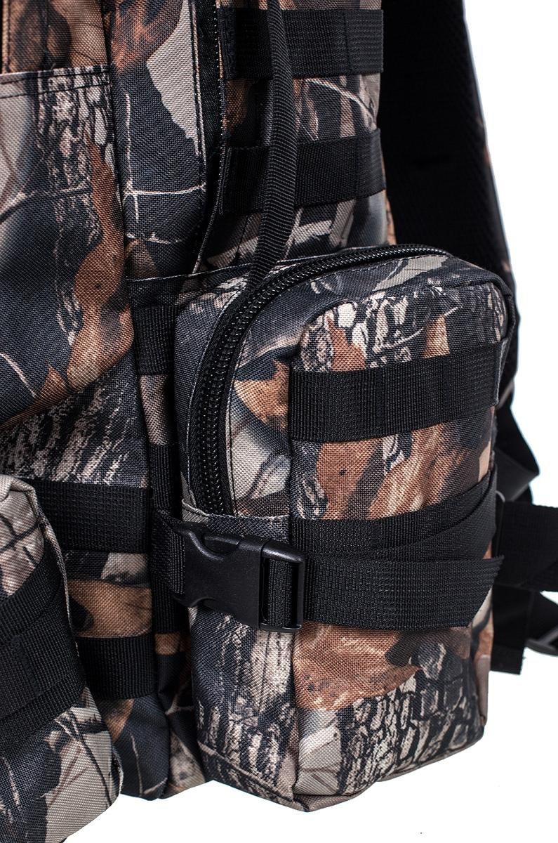 Мужской практичный рюкзак с нашивкой Герб России - купить в Военпро
