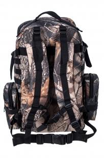 Мужской практичный рюкзак с нашивкой Герб России - купить выгодно