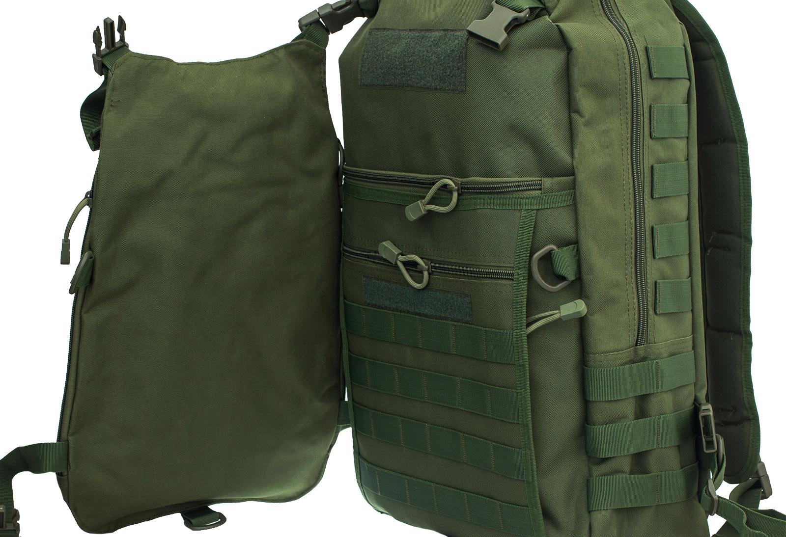 Мужской рейдовый рюкзак с нашивкой МВД - заказать в розницу