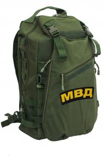 Мужской рейдовый рюкзак с нашивкой МВД - заказать в подарок
