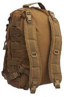 Мужской рейдовый рюкзак с нашивкой Ни Пуха ни Пера - заказать с доставкой