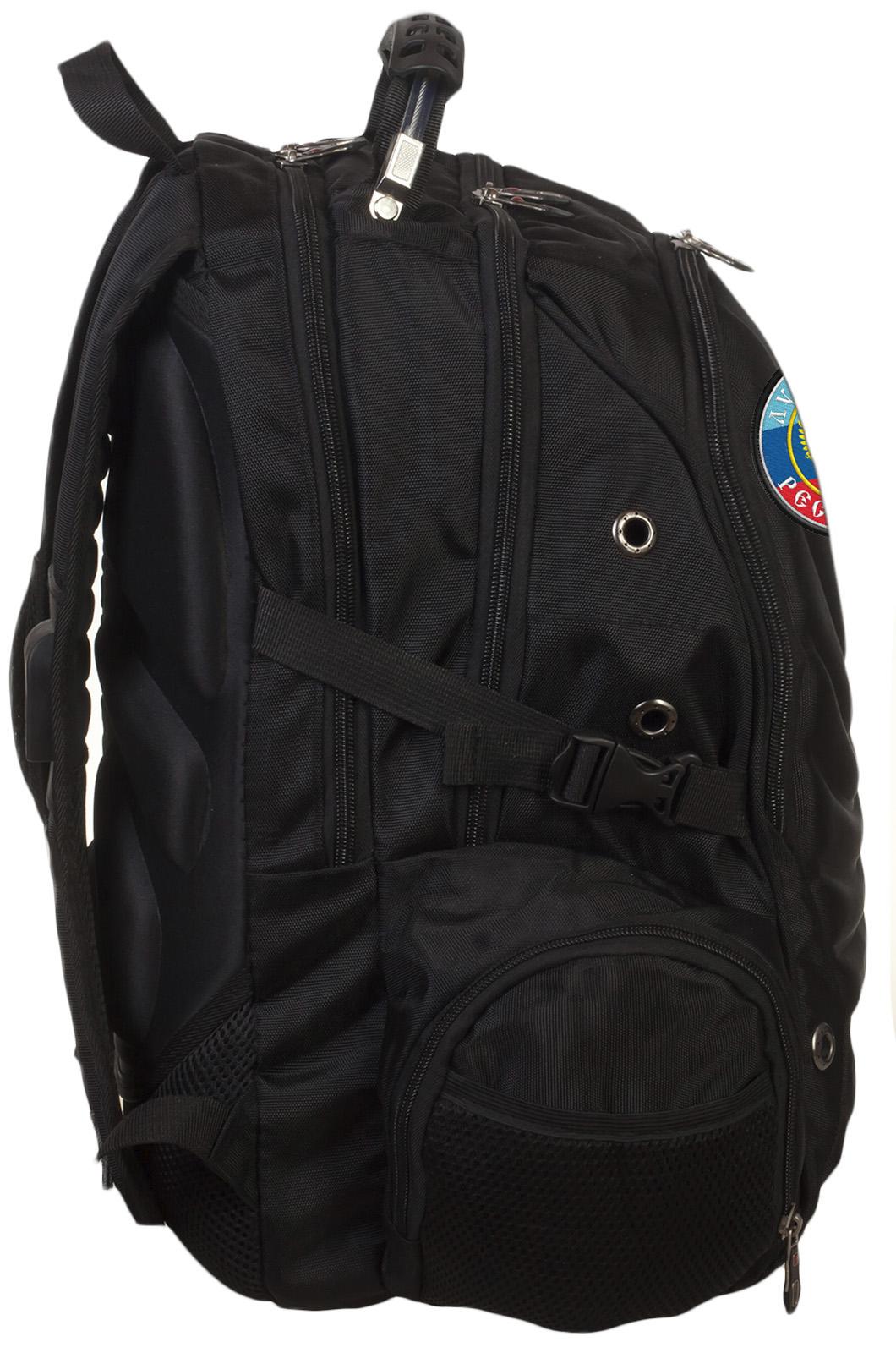 Мужской стильный рюкзак с флагом ЛНР - заказать с доставкой