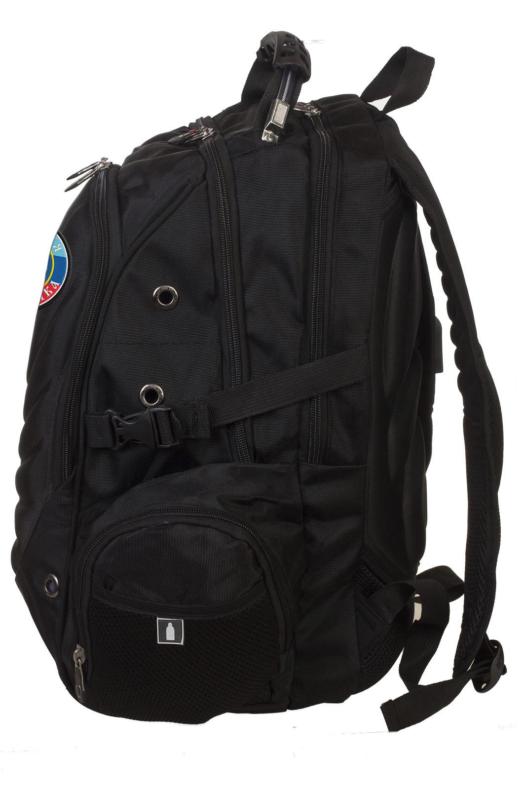 Мужской стильный рюкзак с флагом ЛНР - заказать в подарок