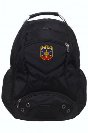 Мужской стильный рюкзак с нашивкой РВСН