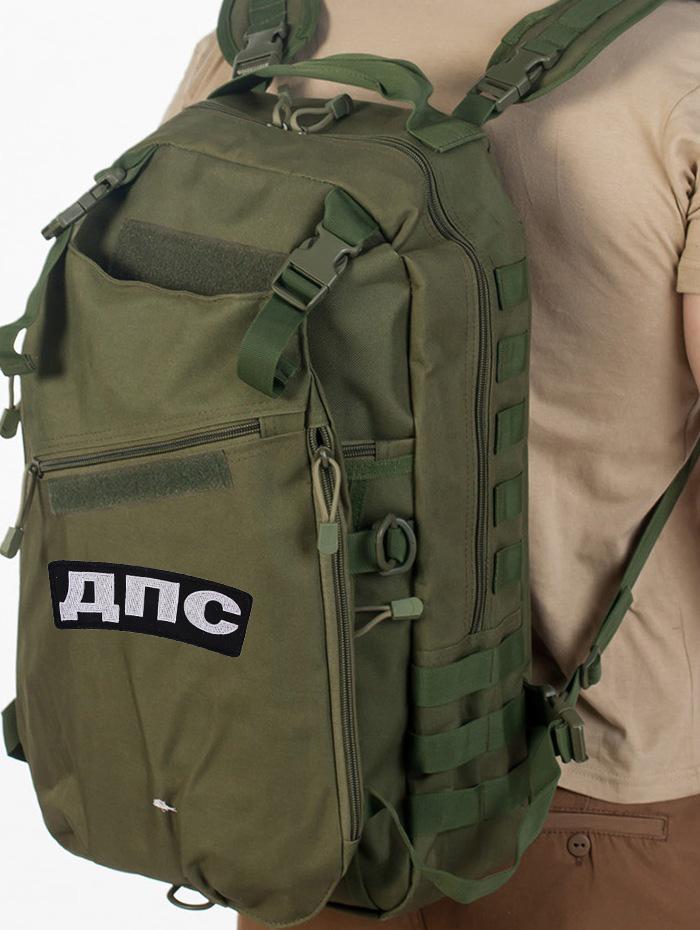 Мужской тактический рюкзак с нашивкой ДПС - купить онлайн