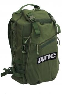 Мужской тактический рюкзак с нашивкой ДПС - заказать с доставкой