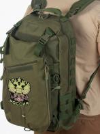 Мужской тактический рюкзак с нашивкой Герб России