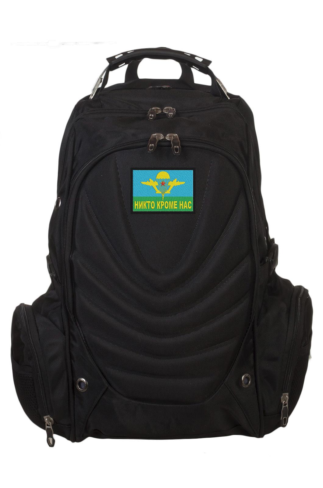 Мужской вместительный рюкзак с нашивкой ВДВ