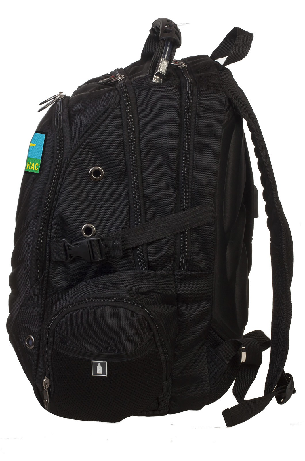 Мужской вместительный рюкзак с нашивкой ВДВ - купить выгодно