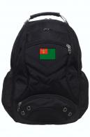 Мужской заплечный рюкзак с нашивкой Пограничных войск