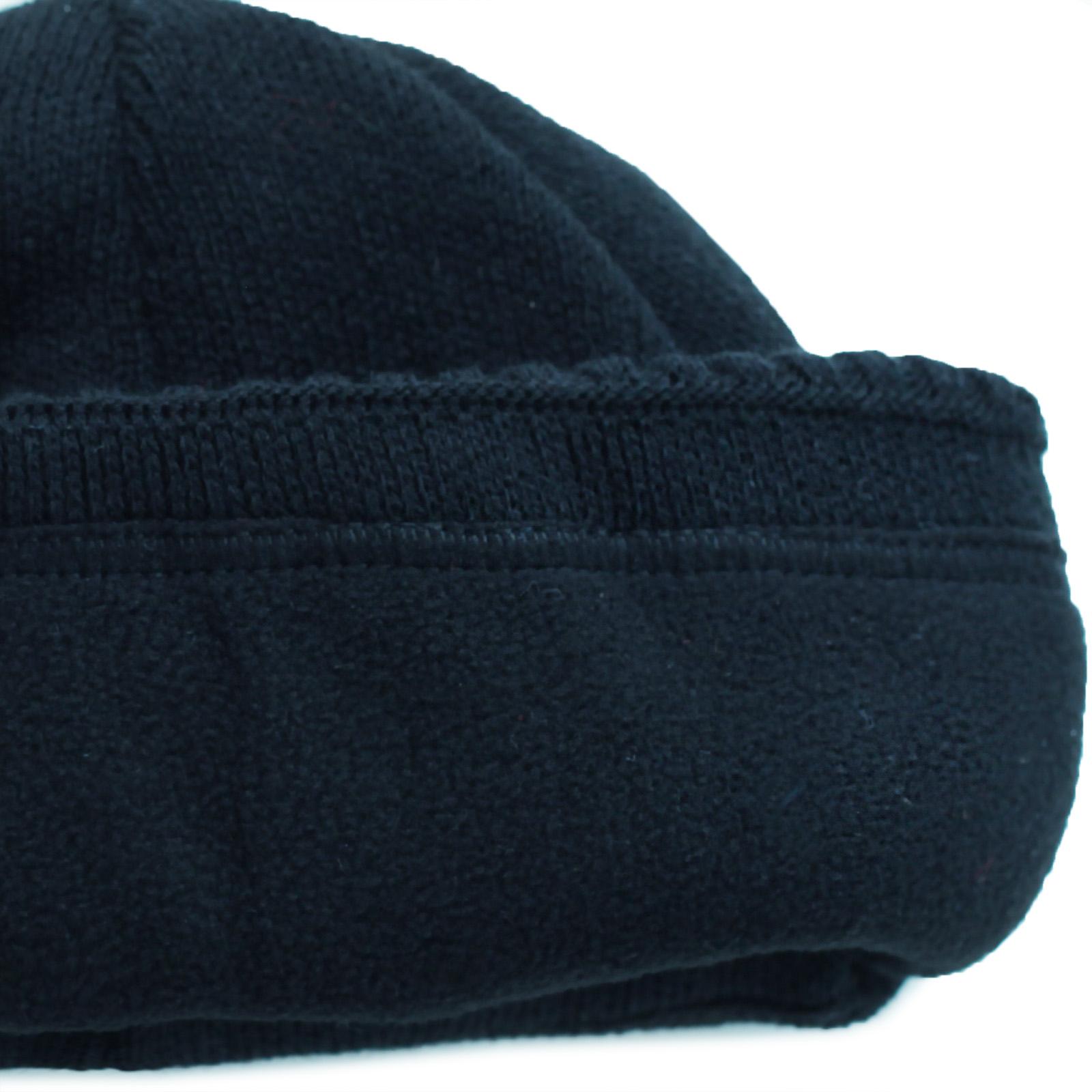 Заказать мужскую зимнюю шапочку с флисом с доставкой