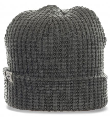 Мягкая шапка Herschel для стильных парней. То, что нужно для активного отдыха и спорта. Подходит на каждый день