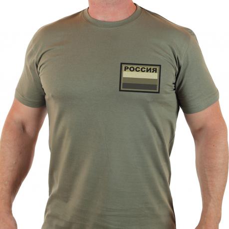 Всегда востребованная мужская футболка Россия