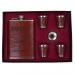 Добротный подарок – набор АФГАН: фляжка для алкоголя, стопки, воронка.