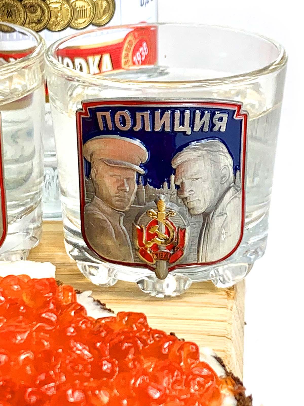 Набор-подарок Полиция кружка для пива + стопки для водки