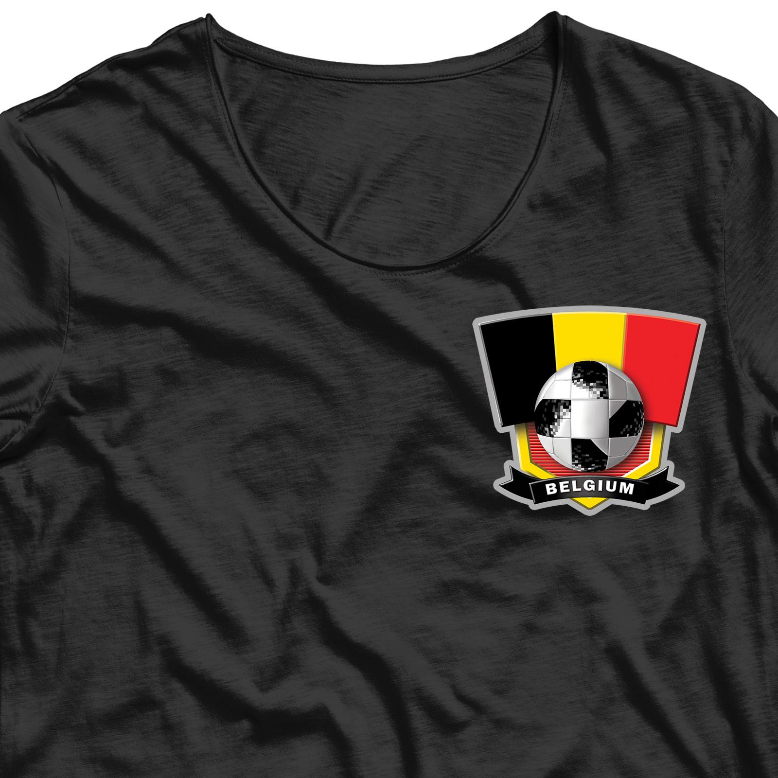 Сублимация на футболку Belgium 6,7х7,5 см