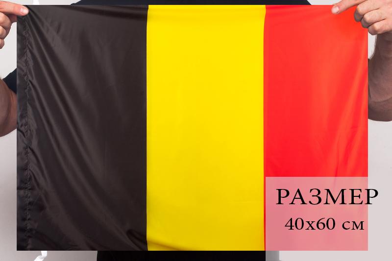 Флаг Бельгии 40х60 см