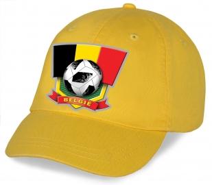 Топовая фанатская бейсболка Belgie