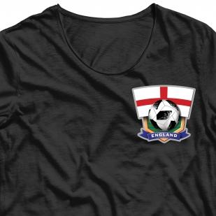 Термотрансфер на футболку Англия
