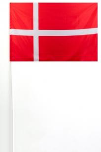 Флажок Дании на палочке 15x23 см