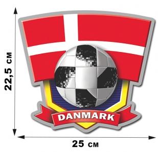 Наклейка DENMARK