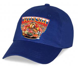 Суперпатриотическая кепка Russia
