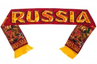 "Шелковый шарф ""Russia"""