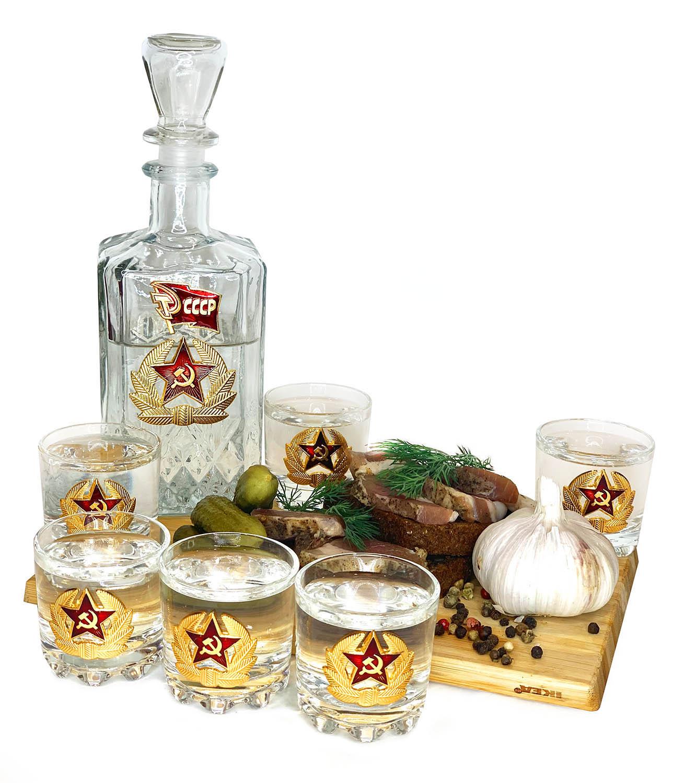 Купить набор для спиртных напитков Гвардия СССР