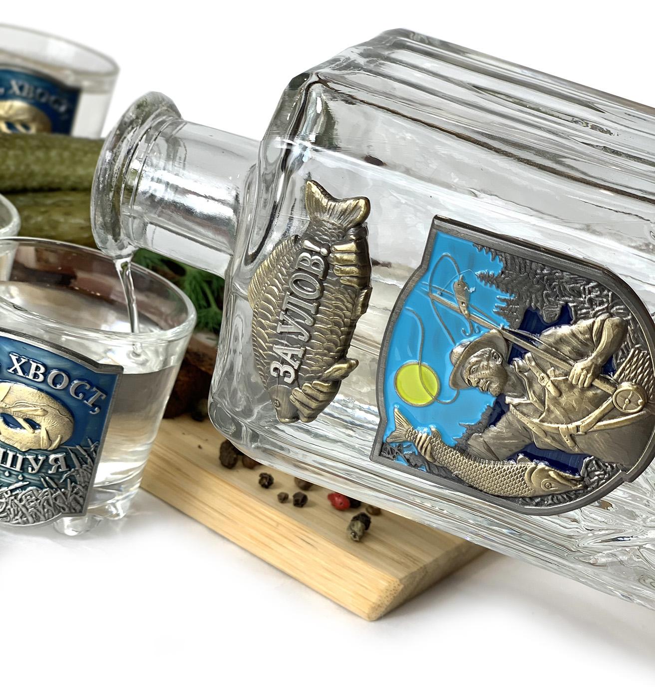 Набор для крепких напитков на подарок рыбаку