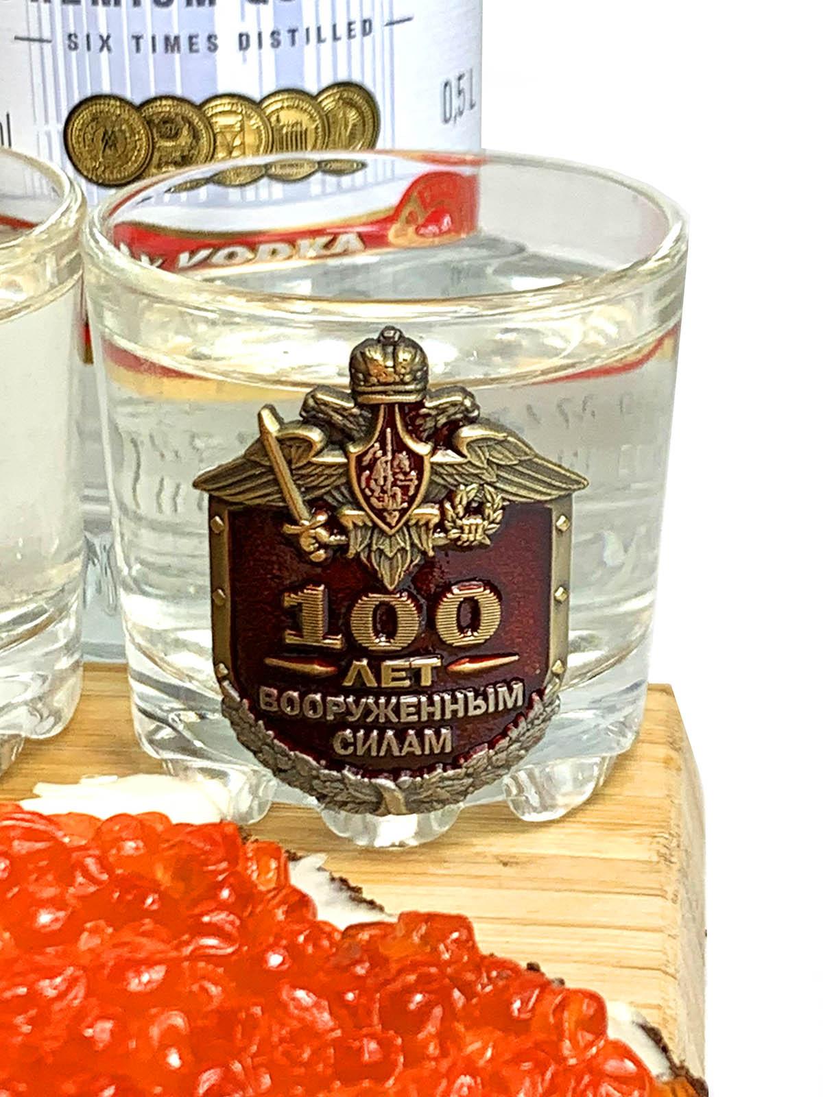 Юбилейный набор для алкоголя 100 лет Советской армии и флоту СССР