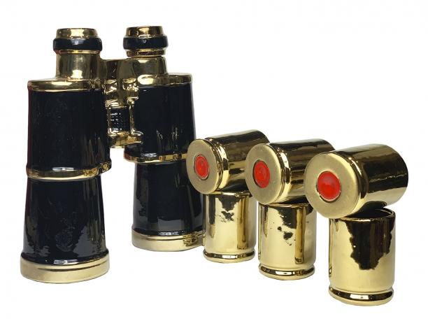 Коллекционный подарочный набор для алкоголя «Бинокль»
