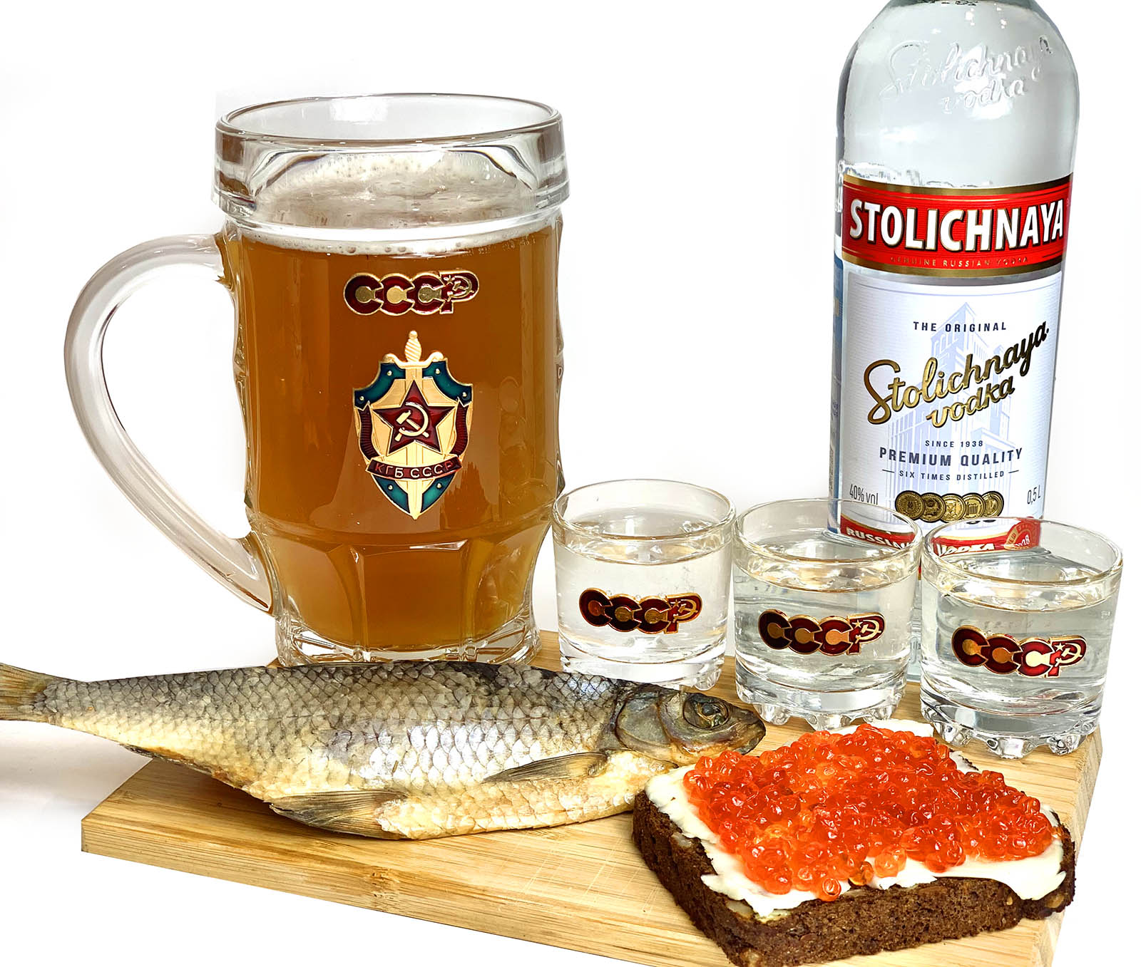 Набор для алкоголя КГБ СССР
