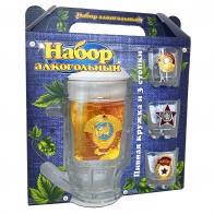 Алкогольный набор для мужских коктейлей Гвардейский