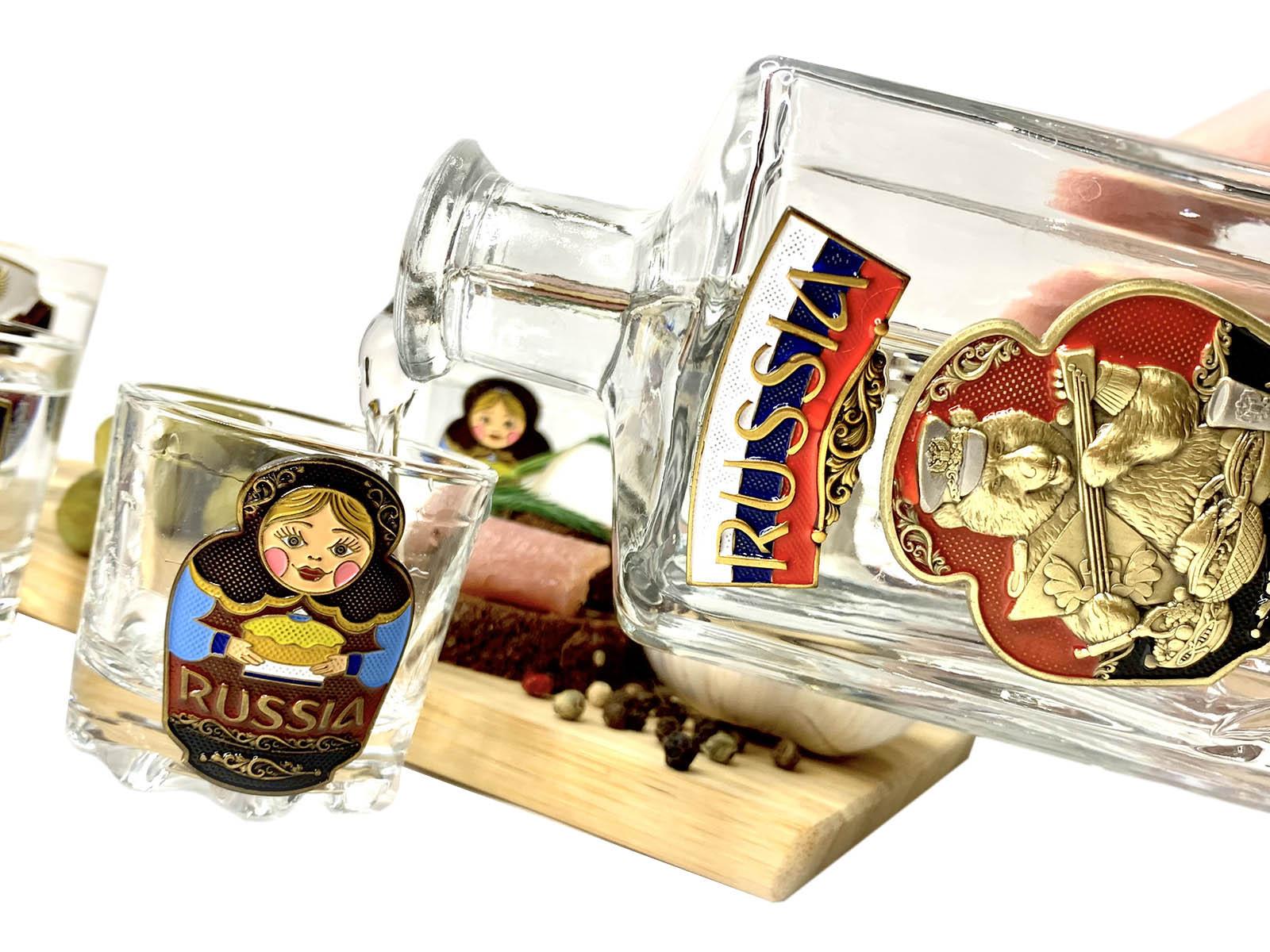 Набор для спиртных напитков Россия