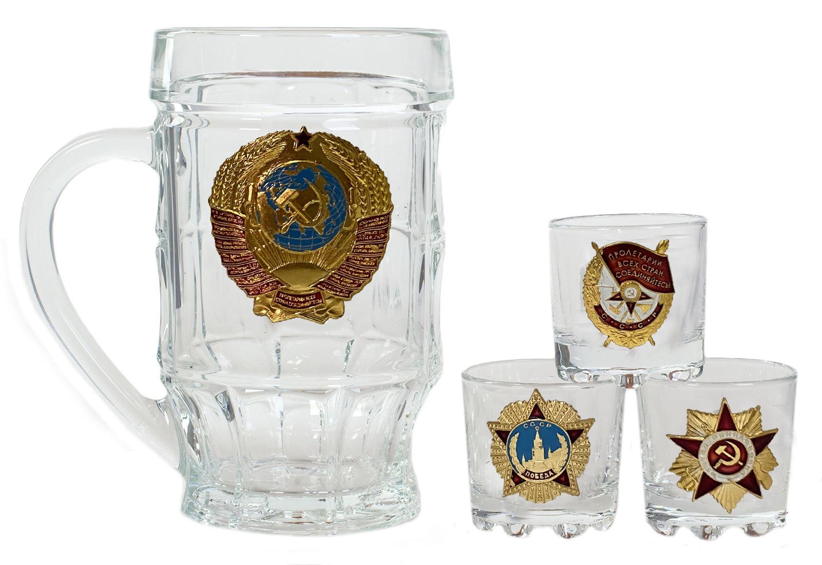 """Набор для крепких напитков """"Советские награды"""""""